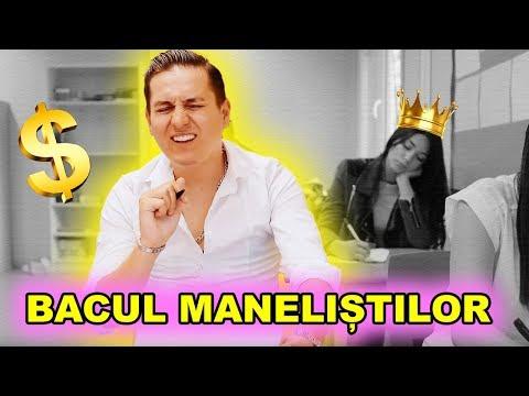 BACUL MANELIȘTILOR - PROBA SCRISĂ