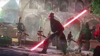 Darth Maul Is Great | Heroes vs Villains | Star Wars Battlefront 2 Darth Maul Gameplay