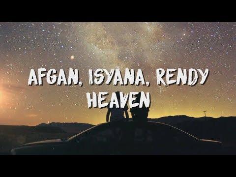 Afgan, Isyana Sarasvati, Rendy Pandugo - Heaven ( Lirik / Lyric Video )