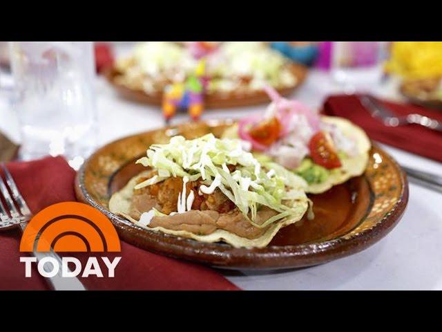 Cinco De Mayo Recipe: Make Authentic Chicken Tinga Tostadas   TODAY