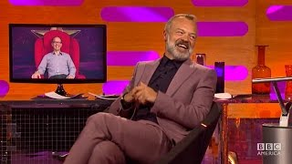 speaking swedish on the big red chair the graham norton show