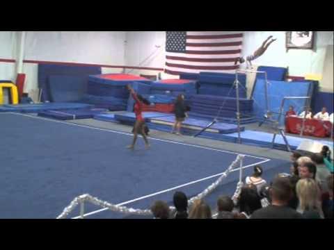 Greenville SC Invitational Gymnastics Meet 120812