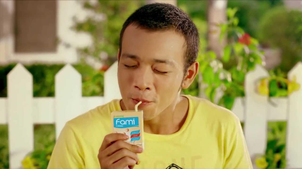 Quang cao sua dau nanh Fami canxi – 30s – Quảng cáo sữa đậu nành Fami canxi