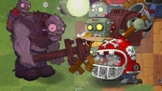 Plants vs. Zombies 2 : Unused Piñata Party - Hypno-shroom and Gargantuar Prime !!!