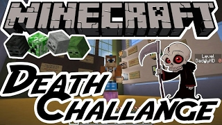 MineCraft - Death Challenge! #2 [Прохождение Карты]