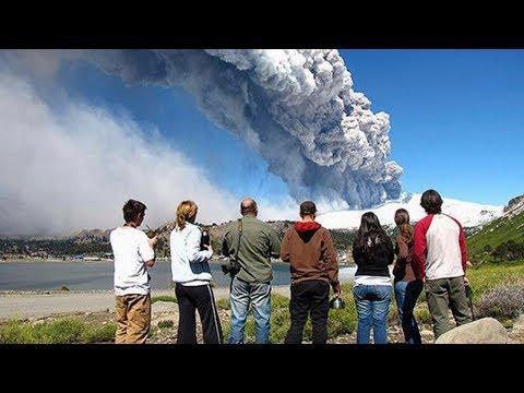 Вулкан ЙЕЛЛОУСТОУН пугает человечество черным дымом апокалипсиса