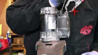 Toyota corolla,avensis,auris,celica petrol starter motor repair.Denso type starter.