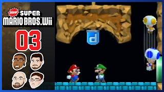 New Super Mario Bros Wii - Part 3: World 2 #BlameKyle - GoofGroup Co-op Lets Play