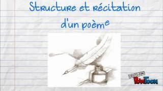 Structure Et Récitation D'un Poème