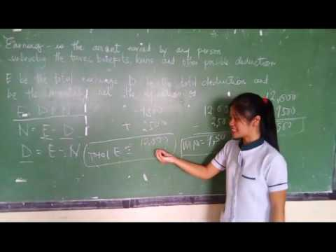 Gross and net earning compound interest by kenneth, aileen and rubelyn