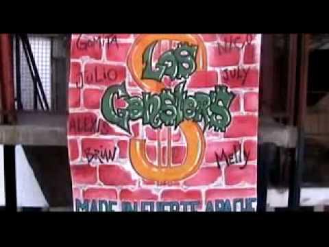 """Los gansters V.clip """"al toque"""" club de jovenes FUERTE APACHE"""