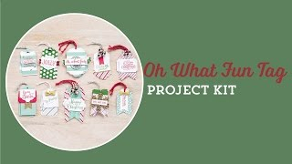 Oh What Fun Tag Project Kit by Stampin' Up!