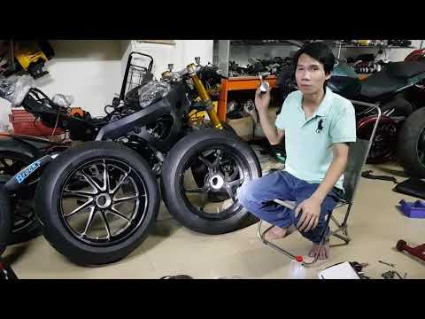 Mẹo Chỉnh Áp Suất Lốp Xe An Toàn Cho Motor,Xe 2 Bánh - Kĩ Sư Hẻm VietTuanGC