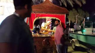 Doha festival city Funny ice cream man qatar hd video