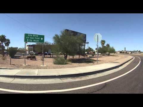 Passing Gila Bend Air Force Auxiliary Field and filling up on Texaco Gas, GP020227