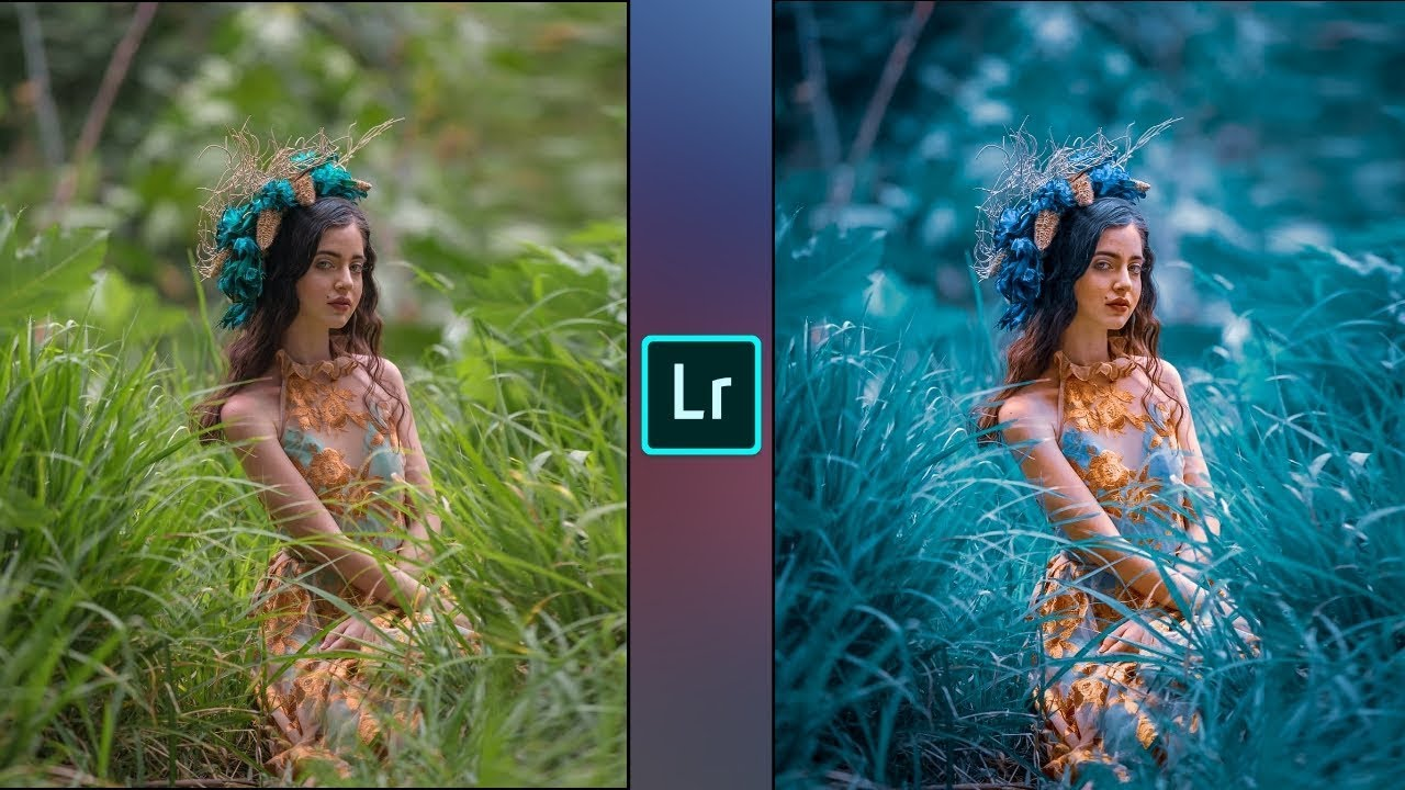 Lightroom Dark Blue Tone Photo Editing  Lr Photo Editing -4619