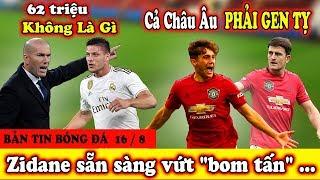 """🔥Bản Tin Bóng Đá 16/8 : Real Đại Loạn - M U vs Liverpool Bắt Tay """"đ.âm sau lưng' Man City"""