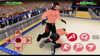 WR3D Seth Rollins vs Finn Balor fight in game mod    Seth vs Finn   