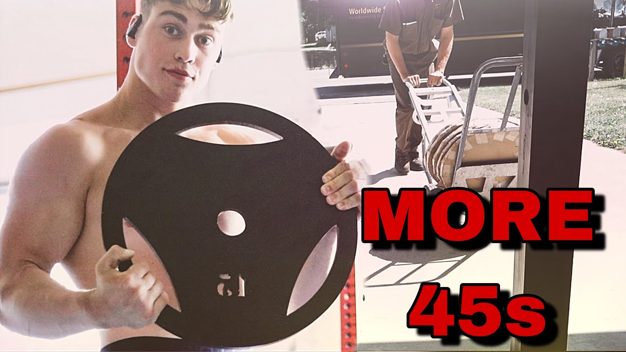 Getting More 45lb Plates | Deadlift Day | Full Day Of Eating