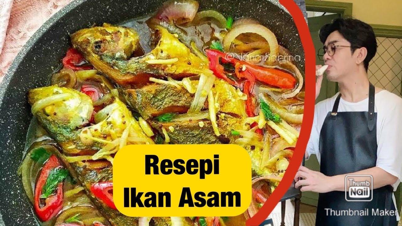 Resepi Ikan Asam Cuka Dato Rizalman Youtube
