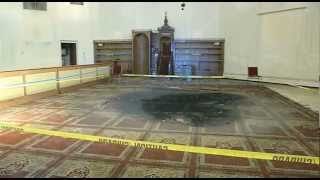 Man charged with mosque arson pleads guilty