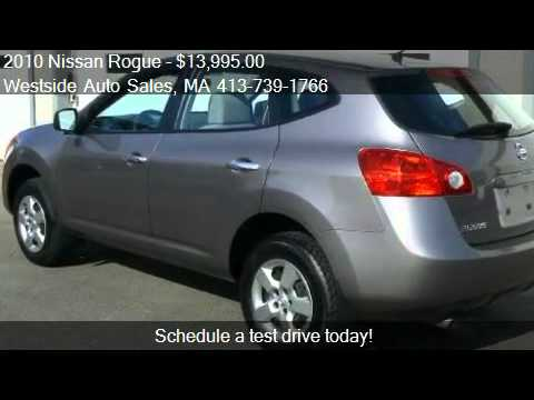 2010 Nissan Rogue S AWD   For Sale In West Springfield, MA 0