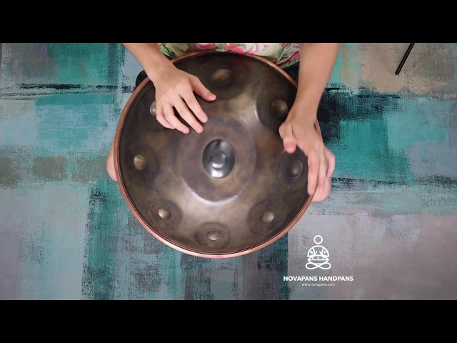 9 Note in B2 Hijaz | Generation 5 | Novapans Handpans