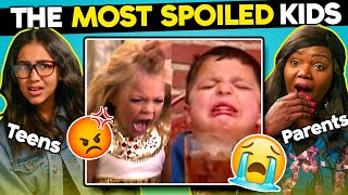 Teens And Parents React To The Most Spoiled Kids Ever MP3