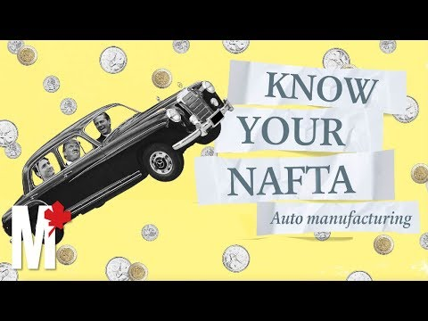 Know your NAFTA: Automotive Manufacturing