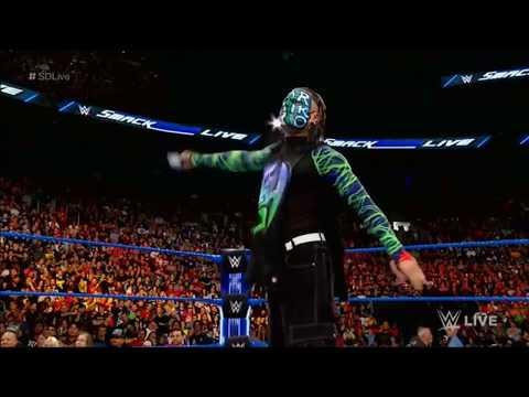 Jeff Hardy Delete Delete Chants On SmackDown LIVE, Aug.28, 2018
