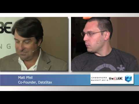 Matt Pfeil - Cassandra Summit 2012 - theCUBE