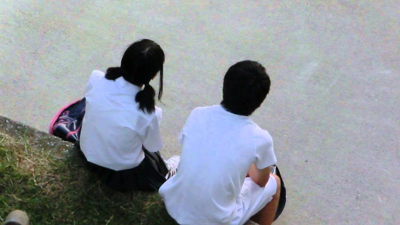 中学生カップル2