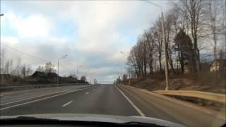 Автопутешествие: в Финляндию на машине.   Январь 2014 года.  день первый