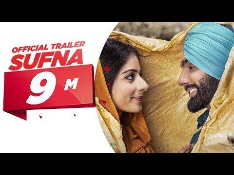 Sufna Movie Official Trailer | Ammy Virk, Tania | Jaani, B Praak