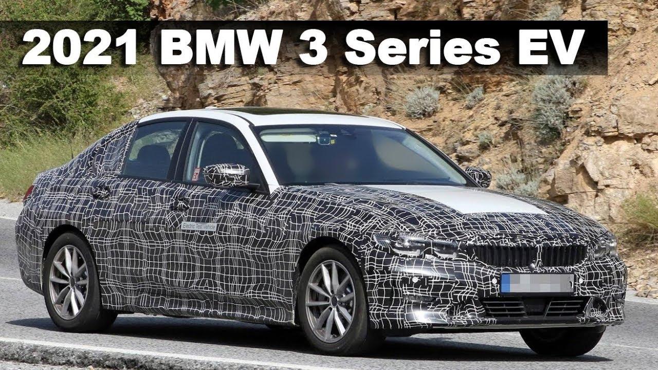 all-new 2021 bmw 3 series ev prototype