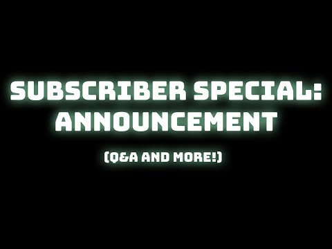 How you can participate in my 1000 Subscriber Special + What it is!