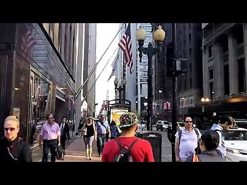 Walking in Downtown Chicago (Sept 20, 2017)