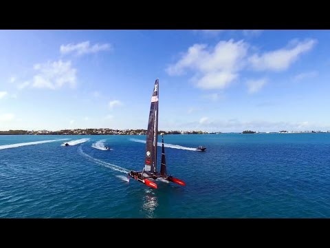 America's Cup Virtual Wind Tunnel Testing, September 2016