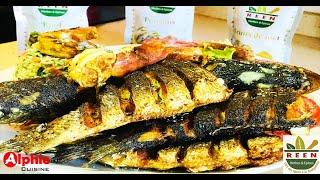 FIRIRE Croustillant !!! Bou Saff Sap - fried fish