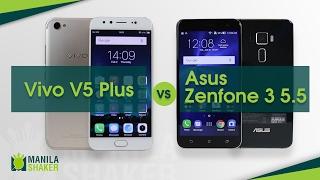 Vivo V5 Plus vs Asus Zenfone 3 5.5 Comparison + Camera Review