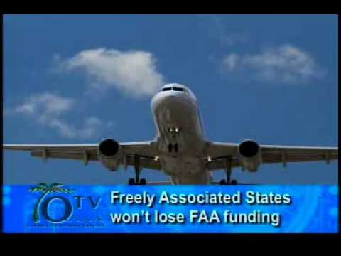 FAA change won't affect Freely Associated States