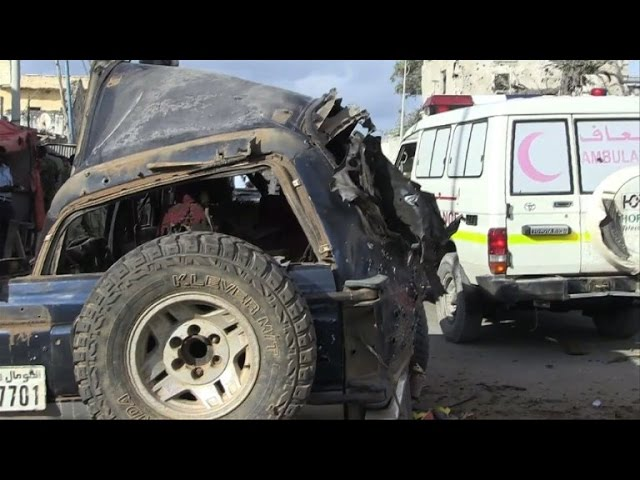 Car bomb kills three police officers in Mogadishu