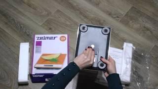 весы Zelmer ZBS18100
