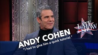 Andy Cohen Dishes About Hitting Gay Bars With John Mayer