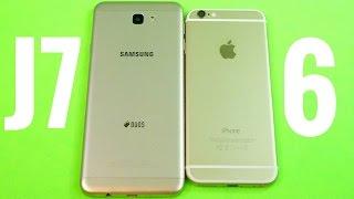samsung galaxy j7 prime vs iphone 6