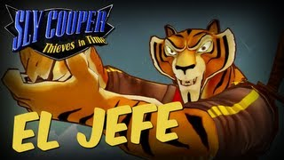 Sly Cooper: Thieves In Time (1080p) El Jefe Boss Walkthrough Gameplay Sly Cooper 4 PS3 VITA