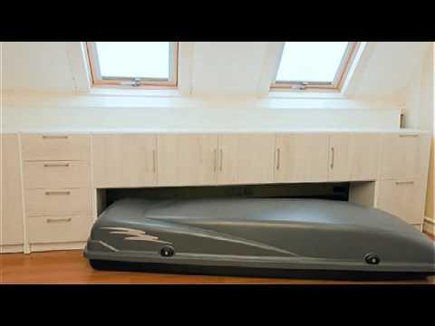 True plexat het ideale kastensysteem voor op zolder youtube - Tub onder dak ...