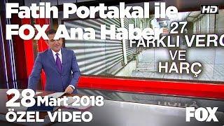 2 ayda 20 bin esnaf iflas etti! 28 Mart 2018 Fatih Portakal ile FOX Ana Haber