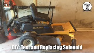 cub cadet how to bypass your mower seat switch zero turn. Black Bedroom Furniture Sets. Home Design Ideas