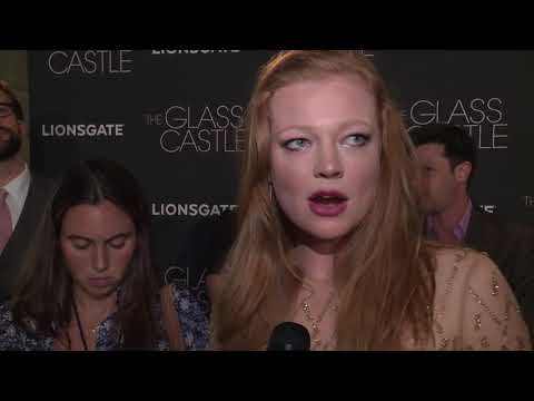 The Glass Castle New York Premiere : Itw Sarah Snook  video